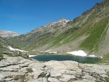 Lej Minor near the Bernina Pass