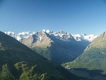 Mountain view from Muottas Muragl