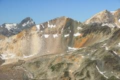 Mountains near Piz Nair