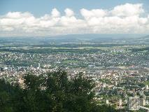 Zürich vanaf Uetliberg