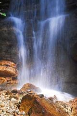 Parlongh-waterval langs de Via Bregaglia