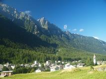 The village of Vicosoprano
