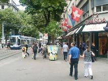 Bahnhofstrasse in Zürich