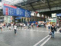 Centraal station van Zürich