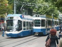Trams in Zürich