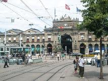 Front of Zurich's main station