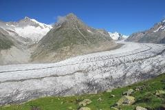Aletsch glacier near Bettmerhorn