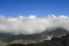 Wolken op Bettmerhorn