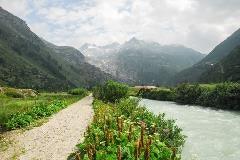 Rhône bij Gletsch