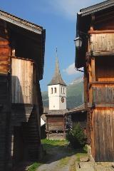 Kerkje in Bellwald