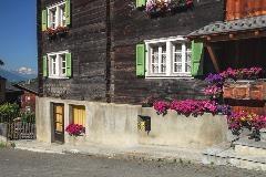 Een typisch Walliser huis in Münster