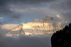 De Jungfrau, gezien vanuit Wilderswil