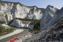Glacier Express Rhine gorge