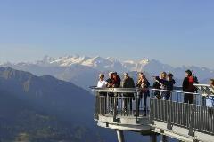 Observation platform at the Stanserhorn