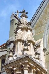Kathedraal Lausanne detail