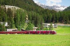 Train in Davos Dorf
