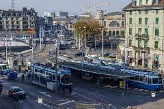 Zürich tram stop Central