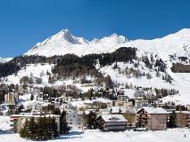 Davos in de winter