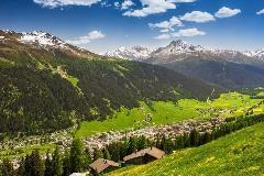 Davos in de zomer