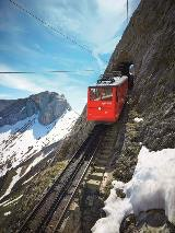 Pilatus cogwheel train