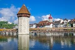 Lucerne and its Chapel Bridge