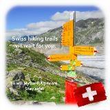 Zwitserse wandelpaden zullen op u wachten