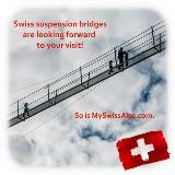 Swiss suspension bridges are looking forward to you