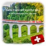 Swiss trains will wait for you