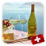 Zwitserse wijn kijkt naar u uit!