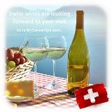 Swiss wines are looking forward to you