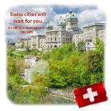 Zwitserse steden zullen op u wachten