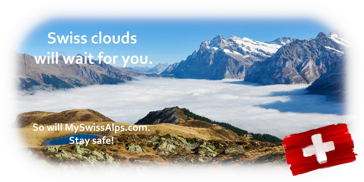 Swiss clouds will wait for you