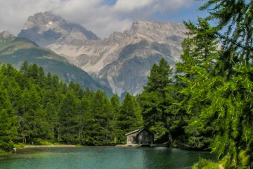 Albula valley