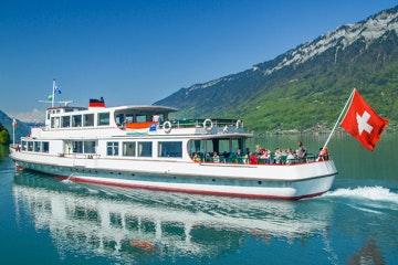 Boot op de Brienzersee