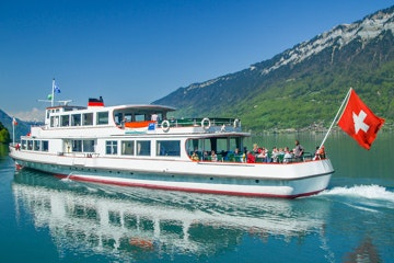 Boot op de Brienzersee