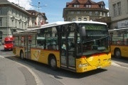 Bus in Interlaken