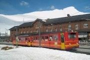 Train to the Jungfraujoch at Kleine Scheidegg