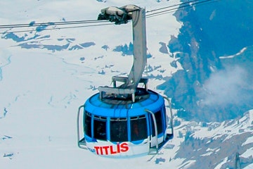 Cable car to Titlis