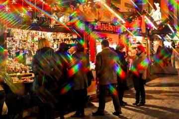 Kerstmarkt in Basel