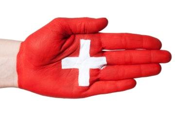Schweizer Händedruck
