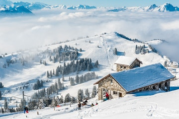 Mount Rigi in Winter