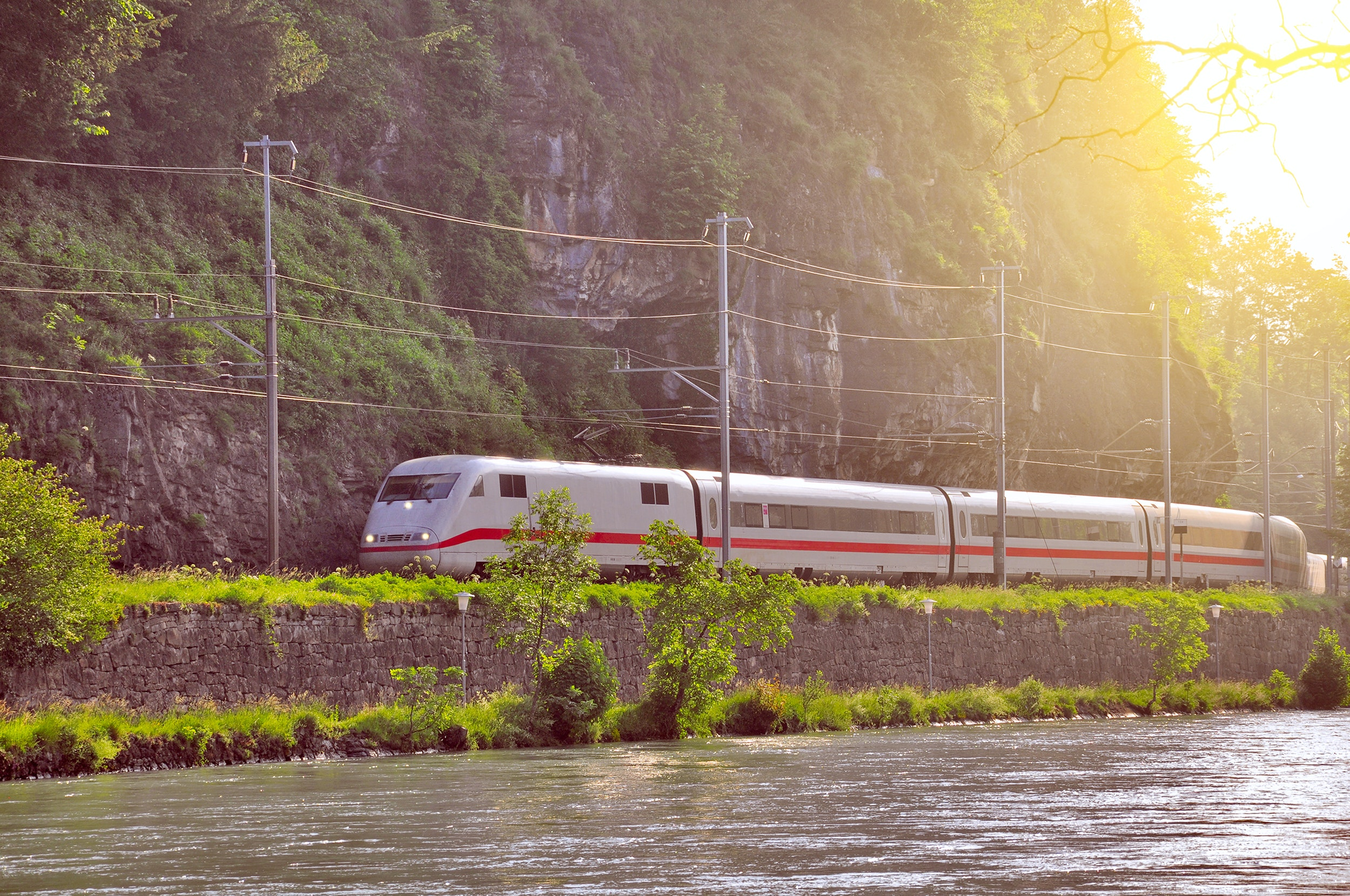 ICE train in Interlaken