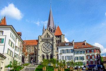 City walk Lausanne