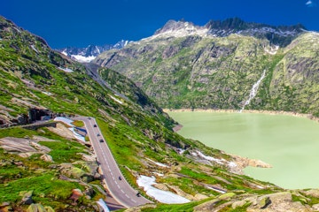 Grimsel Pass and Lake Grimsel