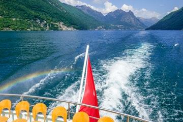 Boat trip Lake Lugano