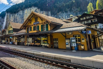Lauterbrunnen rail station
