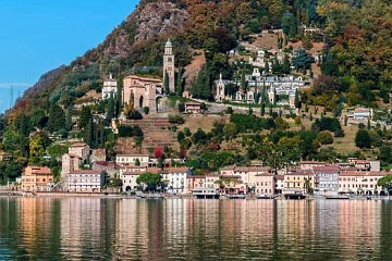 Private guided tour of Lugano and Morcote