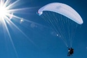 Private half day paragliding experience in Davos