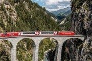 4-day Glacier Express and Bernina Express Tour