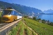 Reis over de GoldenPass-lijn